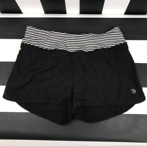 MPG Pants - 5 for $25 MPG Black Striped Running Shorts
